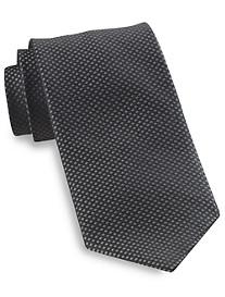 Robert Talbott Textured Diamond Neat Silk Tie