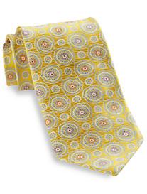 Robert Talbott Large Dual Medallion Silk Tie