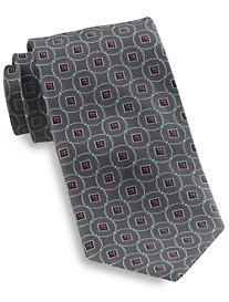 Robert Talbott Circle Medallion Silk Tie