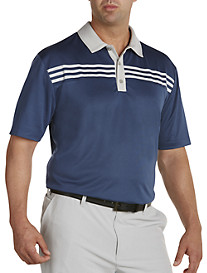 adidas® Golf 3-Stripe Polo