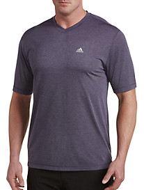 adidas® Golf V-Neck Performance Tee