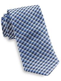 Rochester Small Check Silk Tie