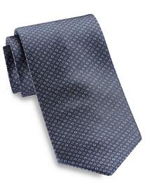Brioni Square/Circle Neat Silk Tie