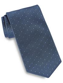 Brioni Textured Dot Silk Tie
