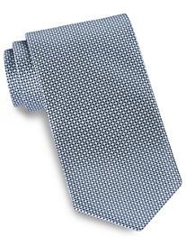 Brioni Mini Diamond Neat Silk Tie