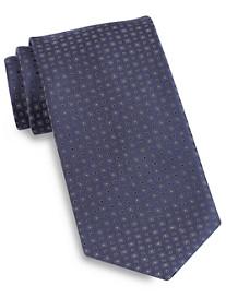 Brioni Square Dot Silk Tie