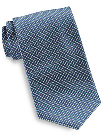 Brioni Diamond Geo Neat II Silk Tie