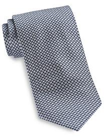 Brioni Diamond Mini Neat Silk Tie