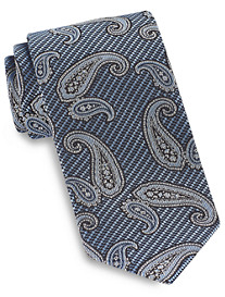 Brioni Stripe Paisley Silk Tie