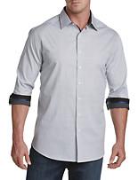 Twenty-Eight Degrees Circle Print Sport Shirt