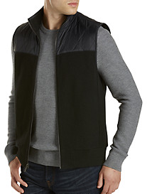 Michael Kors® Quilted-Trim Vest