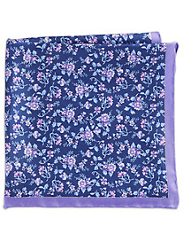 Rochester Fresh Floral Silk Pocket Square