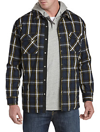 Society of One® Insulated Flannel Shirt Jacket