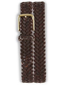 Brooks Brothers® Braided Leather Stretch Belt