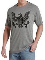 Retro Brand Eagle America Graphic Tee