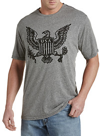 Retro Brand Eagle America Graphic Tee