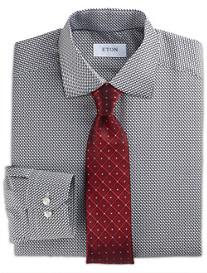Eton® Bird-Print Dress Shirt