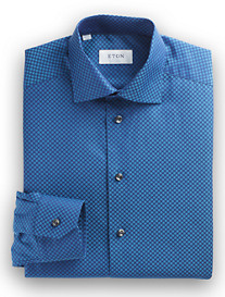 Eton® Cambridge Tonal Dot Dress Shirt