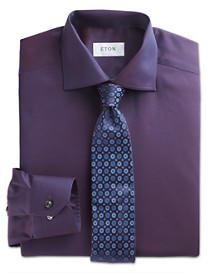 Eton® Cambridge Solid Dobby Dress Shirt