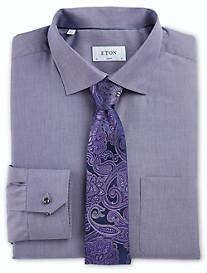 Eton® York Twill Pinstripe Dress Shirt