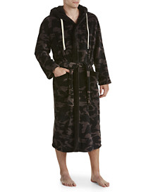 Vintage by Majestic® Camo Hooded Fleece Robe