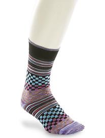 Robert Graham® Angus Check Stripe Socks