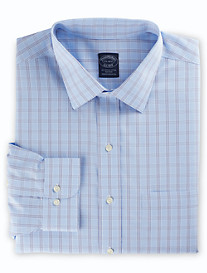 Brooks Brothers® Non-Iron Houndstooth Triple Check Dress Shirt
