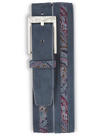 Robert Graham® Nubuck Leather Belt