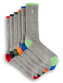 Polo Ralph Lauren® 6-pk Tipped Sport Crew Socks