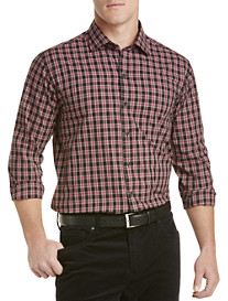 Cutter & Buck™ Harris Plaid Poplin Sport Shirt