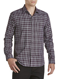 Cutter & Buck® Terrain Plaid Sport Shirt