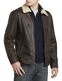 Nautica® Jacket with Faux-Shearling Lining