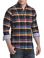 Psycho Bunny® Plaid Flannel Sport Shirt