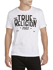 True Religion® Blue Collar Graphic Tee