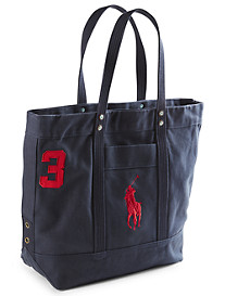 Polo Ralph Lauren® Big Pony Canvas Tote