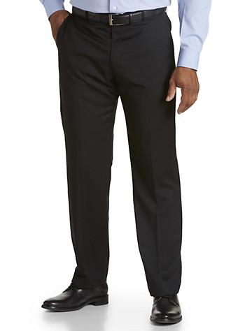 Ballin® Comfort-EZE Flat-Front Gabardine Dress Pants