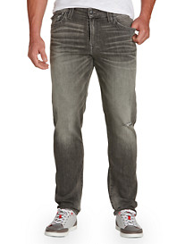 True Religion® Ricky Straight Jeans – Concrete Wash
