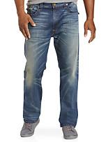 True Religion® Ricky Super T Straight Jeans – Dusty Rider Wash