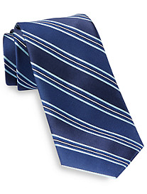 Michael Kors® Railroad Stripe Silk Tie