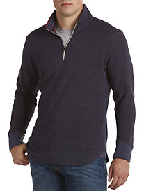 Robert Graham® Waffle-Knit Quarter-Zip Sweater