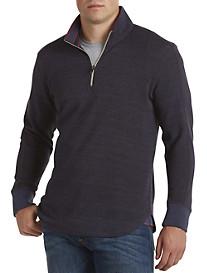 Robert Graham® Waffle-Knit Quarter-Zip Sweater