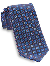 Robert Talbott Best of Class Floral Circle Medallion Silk Tie