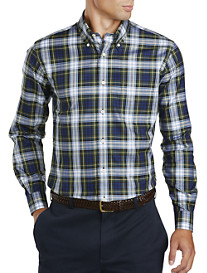 Brooks Brothers® Non-Iron Holiday Tartan Plaid Twill Sport Shirt