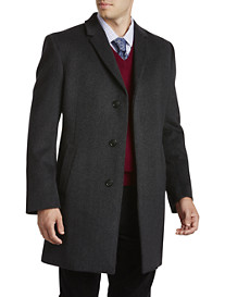 Kenneth Cole Edgar Herringbone Overcoat