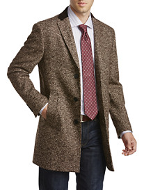 Tallia Orange Tweed Overcoat