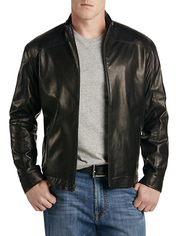 Lined Leather Jacket - 24 products