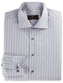 Robert Talbott Multi Stripe Dress Shirt