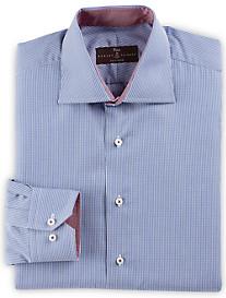 Robert Talbott Estate Mini Gingham Dress Shirt
