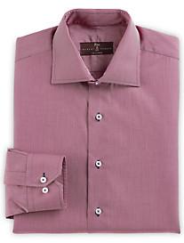 Robert Talbott Contrast-Stitch Dress Shirt