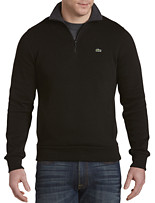 Lacoste® French-Rib Quarter-Zip Pullover